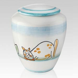 There are a great variety of pet cremation urns to suite any taste or need