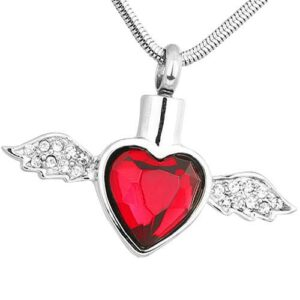 Cremation ash jewelry keeps a small treasured remembrance close at all times.