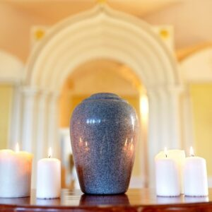 There are many ways a cremation urn can be discreetly displayed in the home